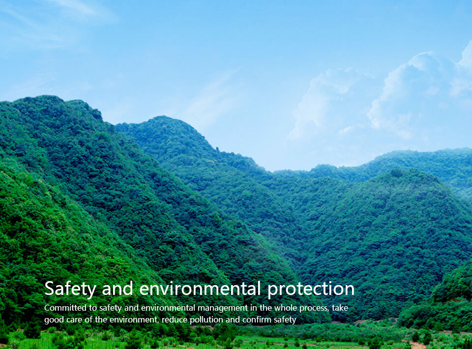 Safety and environmental protection